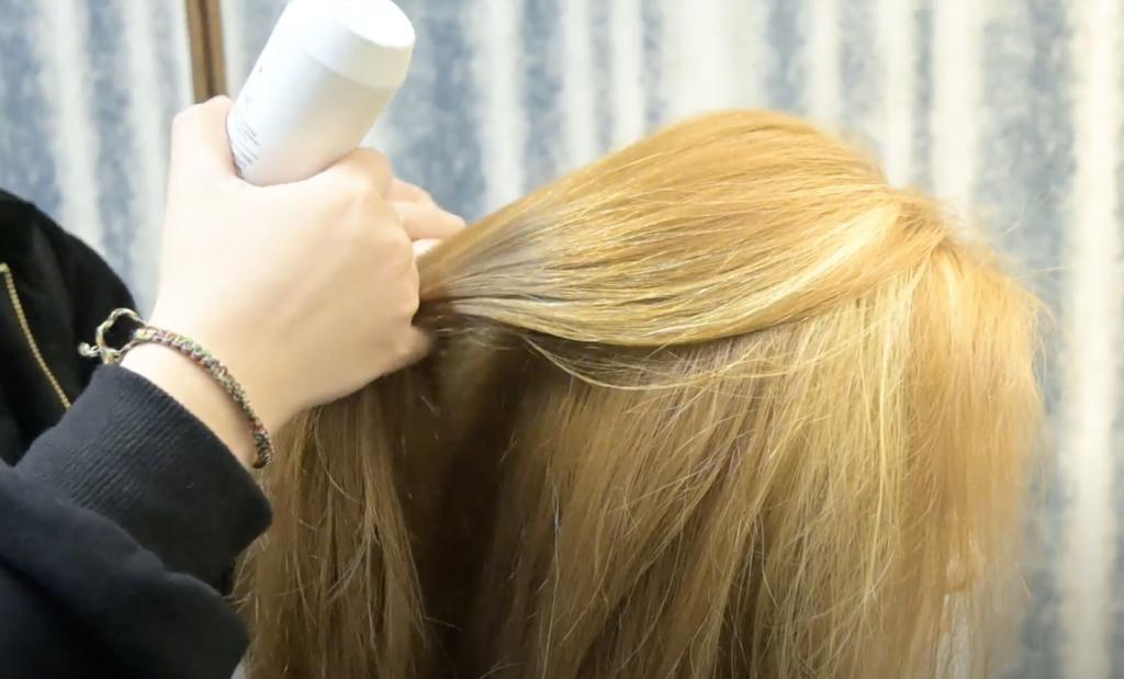 染髮後洗頭