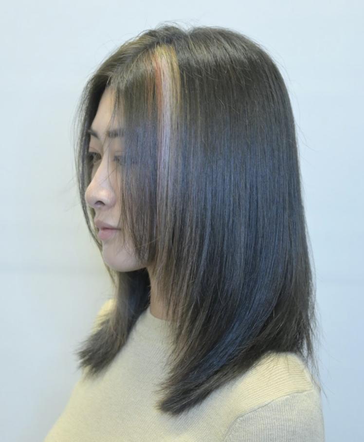 信義區染頭髮